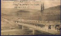 Muhabere Taburu Ürgüp köprüsünde 1940/Turkish soldiers on the Ürgüp Bridge